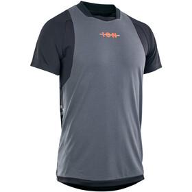 ION Scrub AMP Kurzarm Shirt Herren grau/schwarz